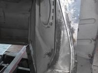 Porsche 356  dørstolpe rep.