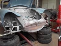 Porsche 356  Front arbejde